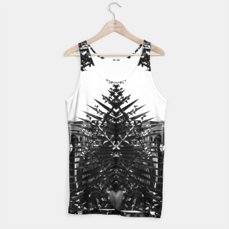 Thumbnail image of Garden Majorelle Marrakech Black and White Tank Top, Live Heroes