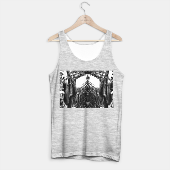 Thumbnail image of Garden Majorelle Marrakech Black and White Tank Top regular, Live Heroes