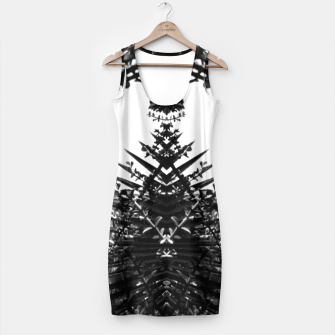Thumbnail image of Garden Majorelle Marrakech Black and White Simple Dress, Live Heroes