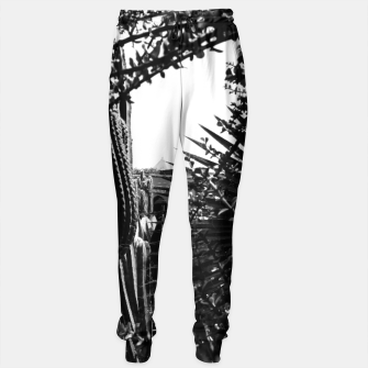 Thumbnail image of Garden Majorelle Marrakech Black and White Sweatpants, Live Heroes