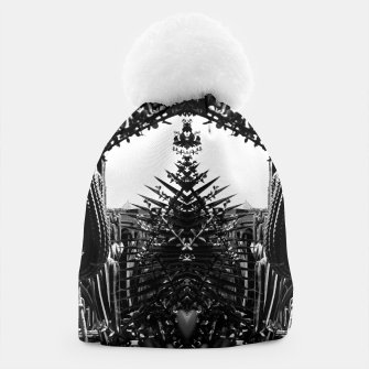 Thumbnail image of Garden Majorelle Marrakech Black and White Beanie, Live Heroes