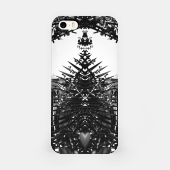 Thumbnail image of Garden Majorelle Marrakech Black and White iPhone Case, Live Heroes