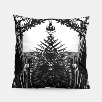 Thumbnail image of Garden Majorelle Marrakech Black and White Pillow, Live Heroes