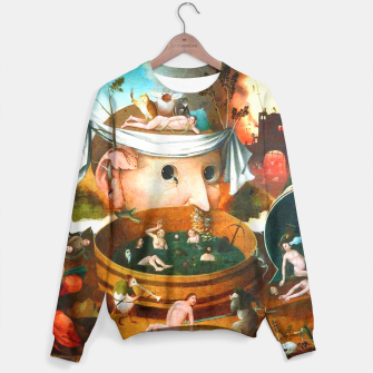 Thumbnail image of The Vision of Tondal-Hieronymus Bosch Sweater, Live Heroes