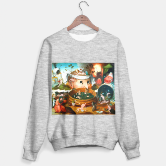 Thumbnail image of The Vision of Tondal-Hieronymus Bosch Sweater regular, Live Heroes