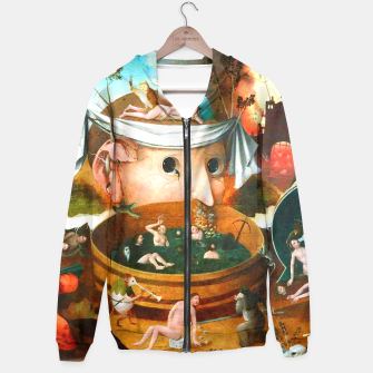 Thumbnail image of The Vision of Tondal-Hieronymus Bosch Hoodie, Live Heroes