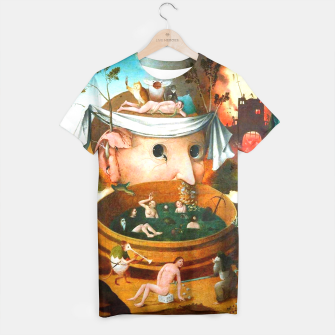Thumbnail image of The Vision of Tondal-Hieronymus Bosch T-shirt, Live Heroes