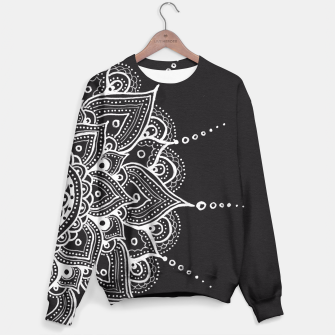 Thumbnail image of White mandala Sweater, Live Heroes