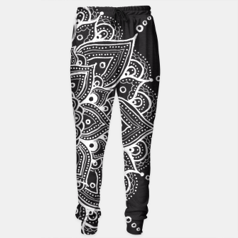 Thumbnail image of White mandala Sweatpants, Live Heroes