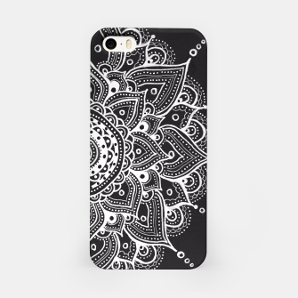 Thumbnail image of White mandala iPhone Case, Live Heroes
