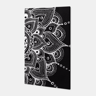 Thumbnail image of White mandala Canvas, Live Heroes