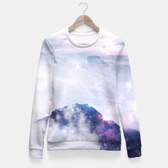 Thumbnail image of Space Mountain Fitted Waist Sweater, Live Heroes