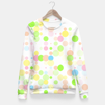 Thumbnail image of Pastel Polka Dots Fitted Waist Sweater, Live Heroes