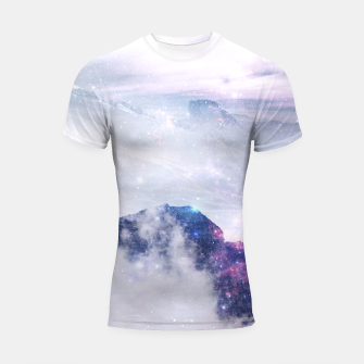 Thumbnail image of Space Mountain Shortsleeve Rashguard, Live Heroes