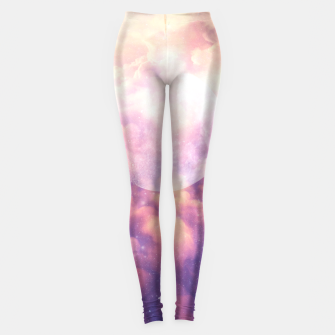 Thumbnail image of Space Clouds Leggings, Live Heroes