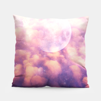 Thumbnail image of Space Clouds Pillow, Live Heroes