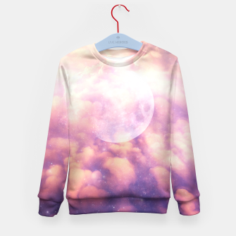 Thumbnail image of Space Clouds Kid's Sweater, Live Heroes