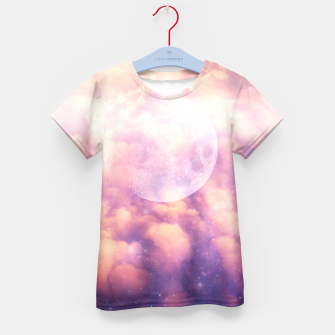 Thumbnail image of Space Clouds Kid's T-shirt, Live Heroes