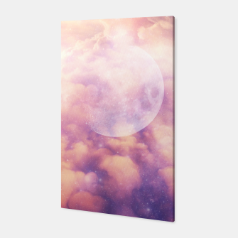 Thumbnail image of Space Clouds Canvas, Live Heroes