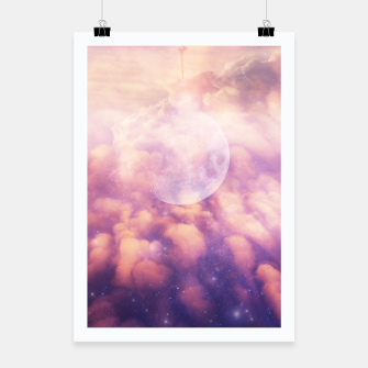 Thumbnail image of Space Clouds Poster, Live Heroes