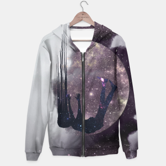 Thumbnail image of Falling from space Hoodie, Live Heroes