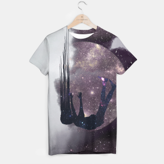 Thumbnail image of Falling from space T-shirt, Live Heroes