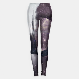Thumbnail image of Falling from space Leggings, Live Heroes
