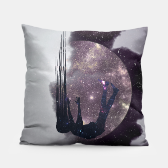 Thumbnail image of Falling from space Pillow, Live Heroes