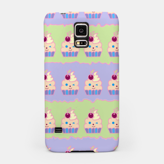 Thumbnail image of Cupcake Pattern Samsung Case, Live Heroes
