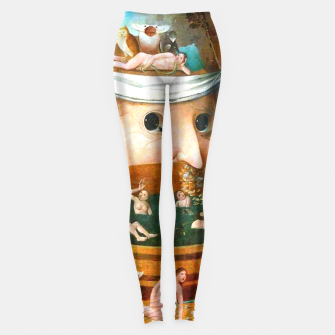 Thumbnail image of The Vision of Tondal-Hieronymus Bosch Leggings, Live Heroes