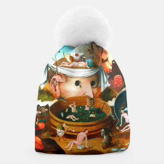 Thumbnail image of The Vision of Tondal-Hieronymus Bosch Beanie, Live Heroes