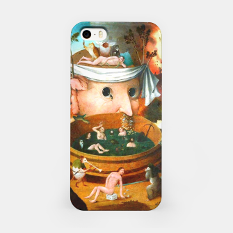 Thumbnail image of The Vision of Tondal-Hieronymus Bosch iPhone Case, Live Heroes