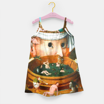Thumbnail image of The Vision of Tondal-Hieronymus Bosch Girl's Dress, Live Heroes