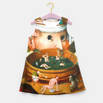 Thumbnail image of The Vision of Tondal-Hieronymus Bosch Girl's Summer Dress, Live Heroes