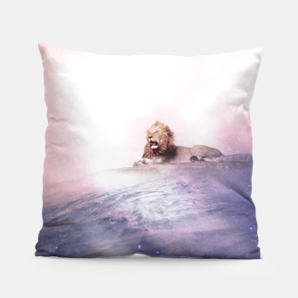 Thumbnail image of The Deep Roar Pillow, Live Heroes
