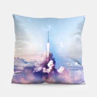 Thumbnail image of My rockets are your rockets Pillow, Live Heroes