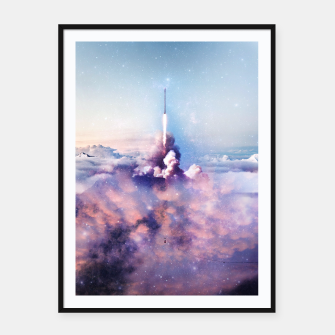 Imagen en miniatura de My rockets are your rockets Framed poster, Live Heroes