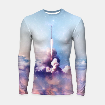 Thumbnail image of My rockets are your rockets Longsleeve Rashguard , Live Heroes