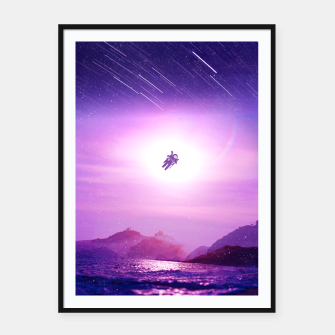 Spaceman Framed poster obraz miniatury