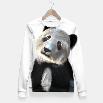 Thumbnail image of Panda - YOU - Nique FASHION Fitted Waist Sweater, Live Heroes