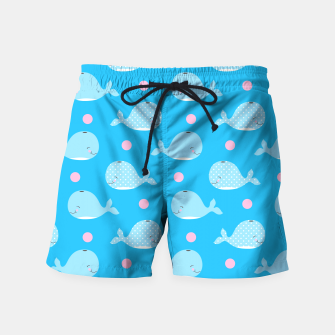 Thumbnail image of Willy Whale - YOU - Nique FASHION Swim Shorts, Live Heroes