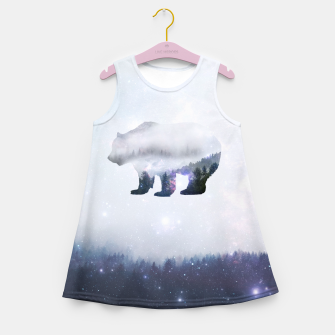 Thumbnail image of Space Bear Girl's Summer Dress, Live Heroes