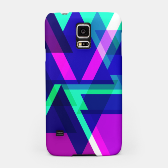 Thumbnail image of Geometric Angular Modern Abstract Patterned Samsung Case, Live Heroes