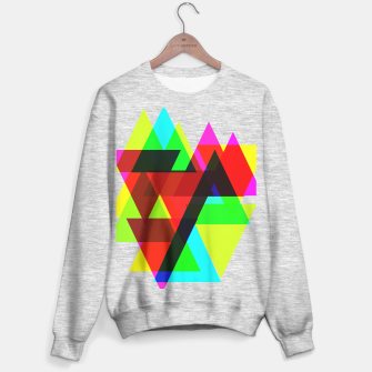Thumbnail image of Geometric Angular Modern Abstract Patterned Sweater regular, Live Heroes