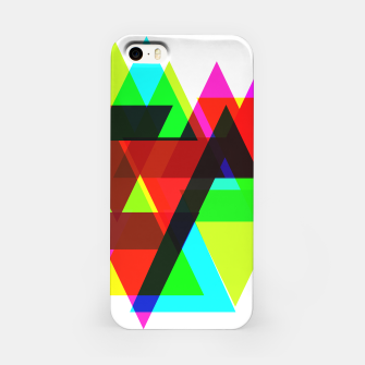 Thumbnail image of Geometric Angular Modern Abstract Patterned iPhone Case, Live Heroes