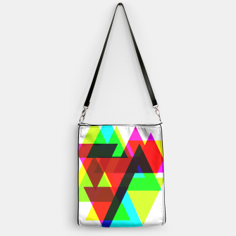 Thumbnail image of Geometric Angular Modern Abstract Patterned Handbag, Live Heroes