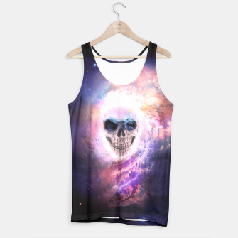 Thumbnail image of Skull Space Tank Top, Live Heroes