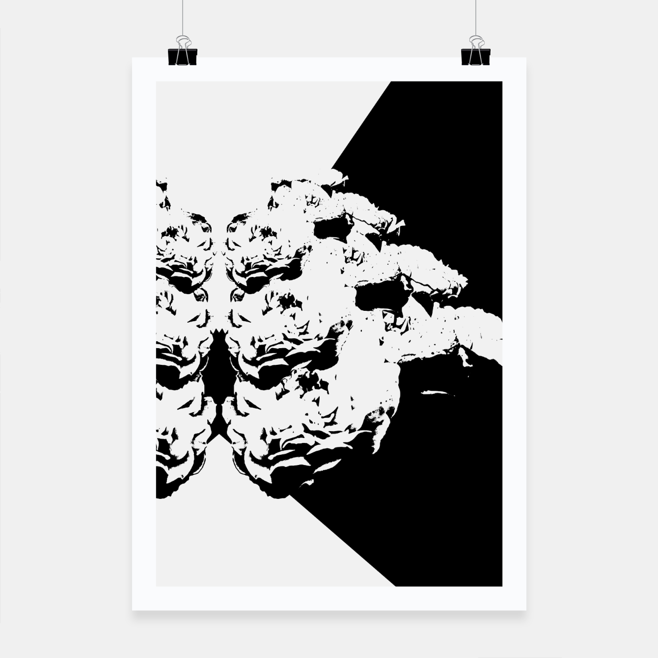 Shadow Flowers Poster Live Heroes