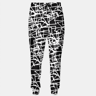 Miniaturka White Scribbles On Black Sweatpants, Live Heroes
