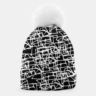 Miniaturka White Scribbles On Black Beanie, Live Heroes